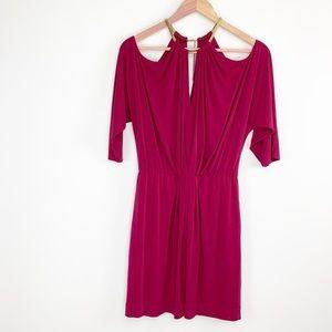 Trina Turk cold shoulder dress -no size